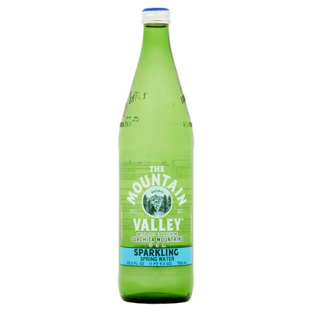 Mountain Valley Water Sprkl Glass,750 Ml (Pack Of 12)
