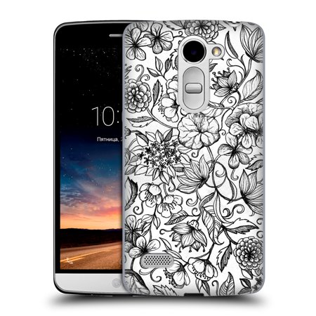 OFFICIAL MICKLYN LE FEUVRE FLORALS 2 HARD BACK CASE FOR LG PHONES 2