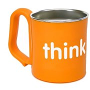 Thinkbaby BPA Free Kids Cup - Orange - Pack of 2