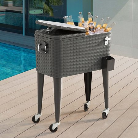 60QT Wicker Cooler ()
