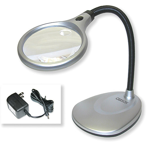 Carson Optical DeskBrite 200 Illuminated Magnifier & Desk Lamp