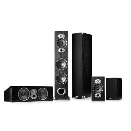 Polk Audio RTiA7 5.0 Home Theater Speaker Package (Black) by Polk Audio
