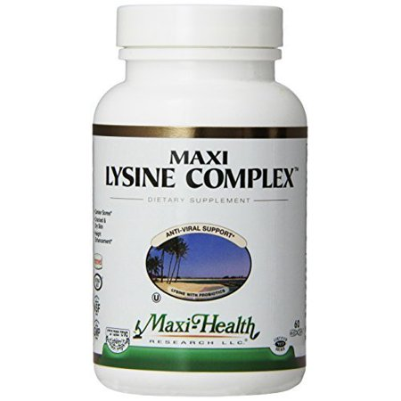 Maxi Lysine Complex  60 Count Carrier To Shipping International Usps  Ups  Fedex  Dhl  14 28 Day By Dragon Shopping