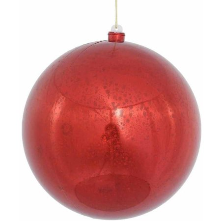 Ornament Large Red Ball (Vickerman 8