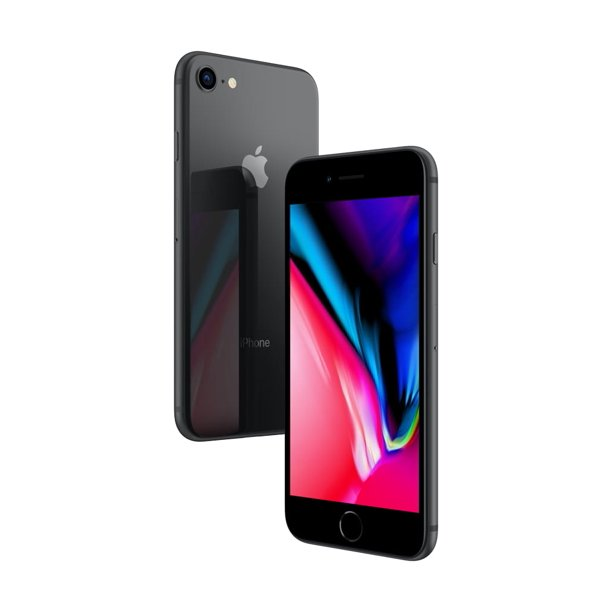 Straight Talk Apple iPhone 8 Plus w/128gb, Space Gray
