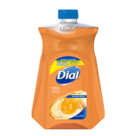 Dial Antibacterial Liquid Hand Soap Refill Gold 52 Ounce
