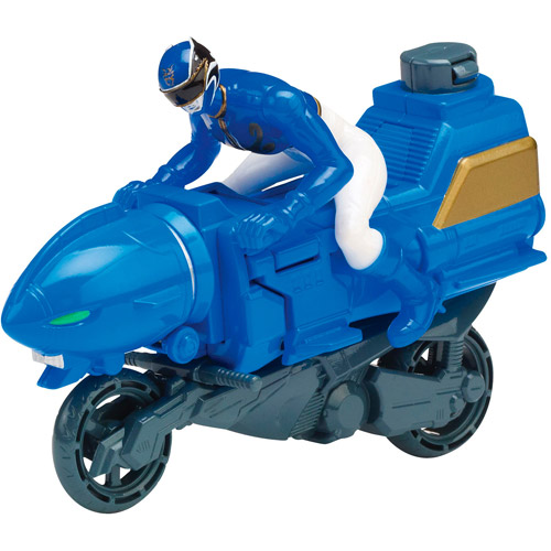 Power Rangers Sea Lion Cycle and Blue Ranger Action Figure Play Set
