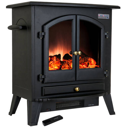"AKDY FP0032 25"" 1500W Freestanding Electric Fireplace"