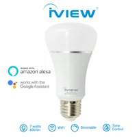 Iview-ISB610-Smart-WiFi-LED-Light-Bulb-Multi-color-Dimmible-No-Hub-Required