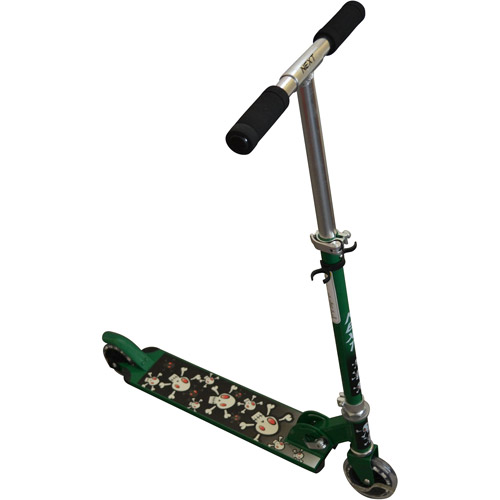 Folding Scooter, Green