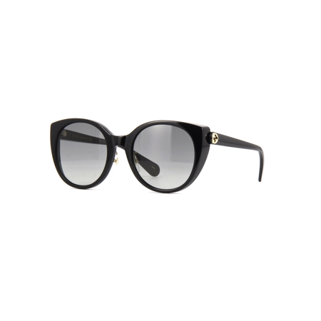 Gucci GG0369S 001 Sunglasses Black Frame Grey Gradient Lenses 54mm