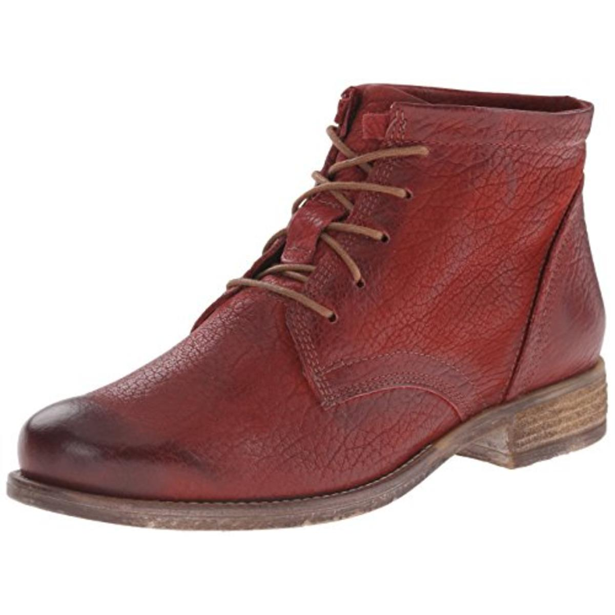 Josef Seibel Womens Sienna 03 Leather Lace Up Ankle Boots