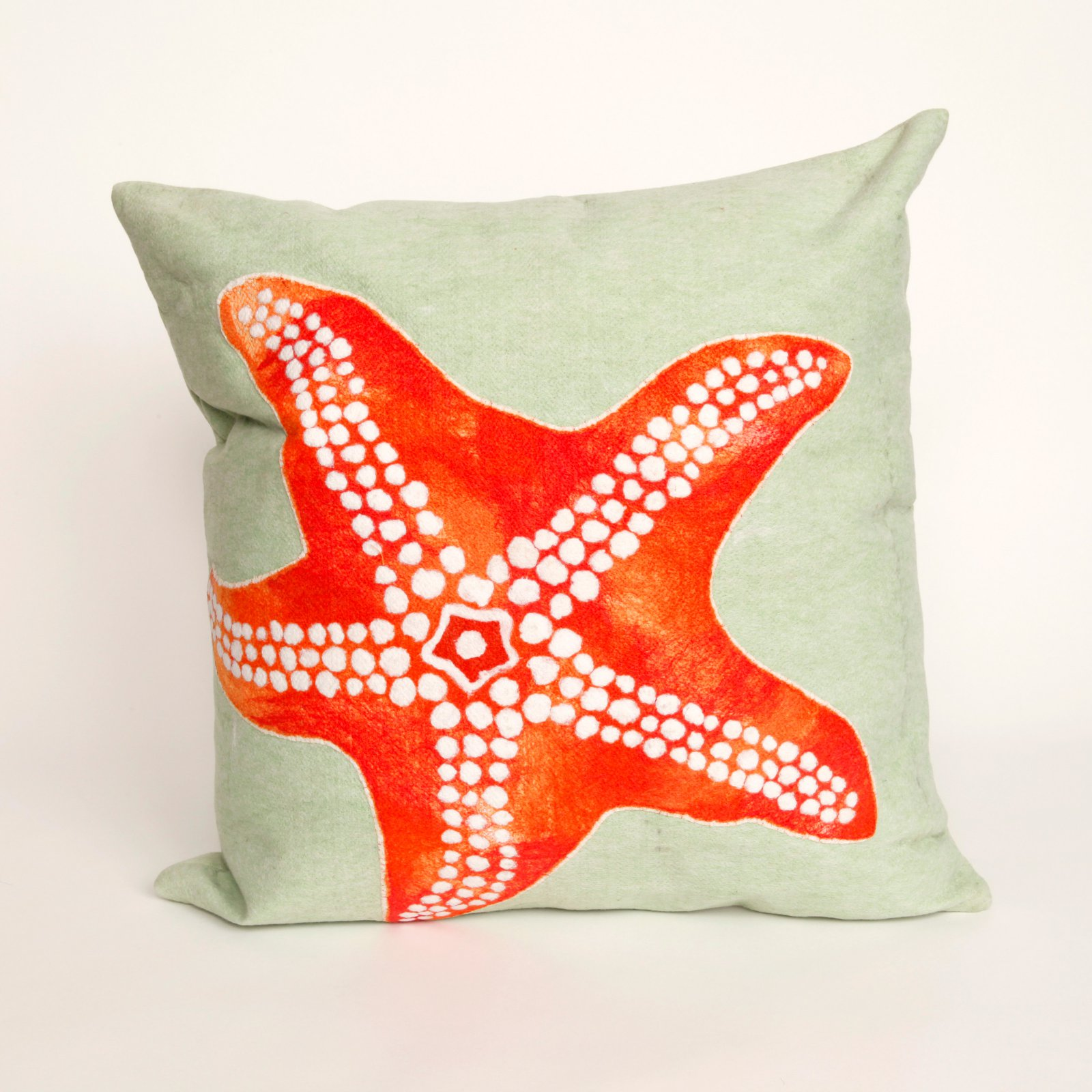 Liora Manne Star Fish Indoor / Outdoor Throw Pillow