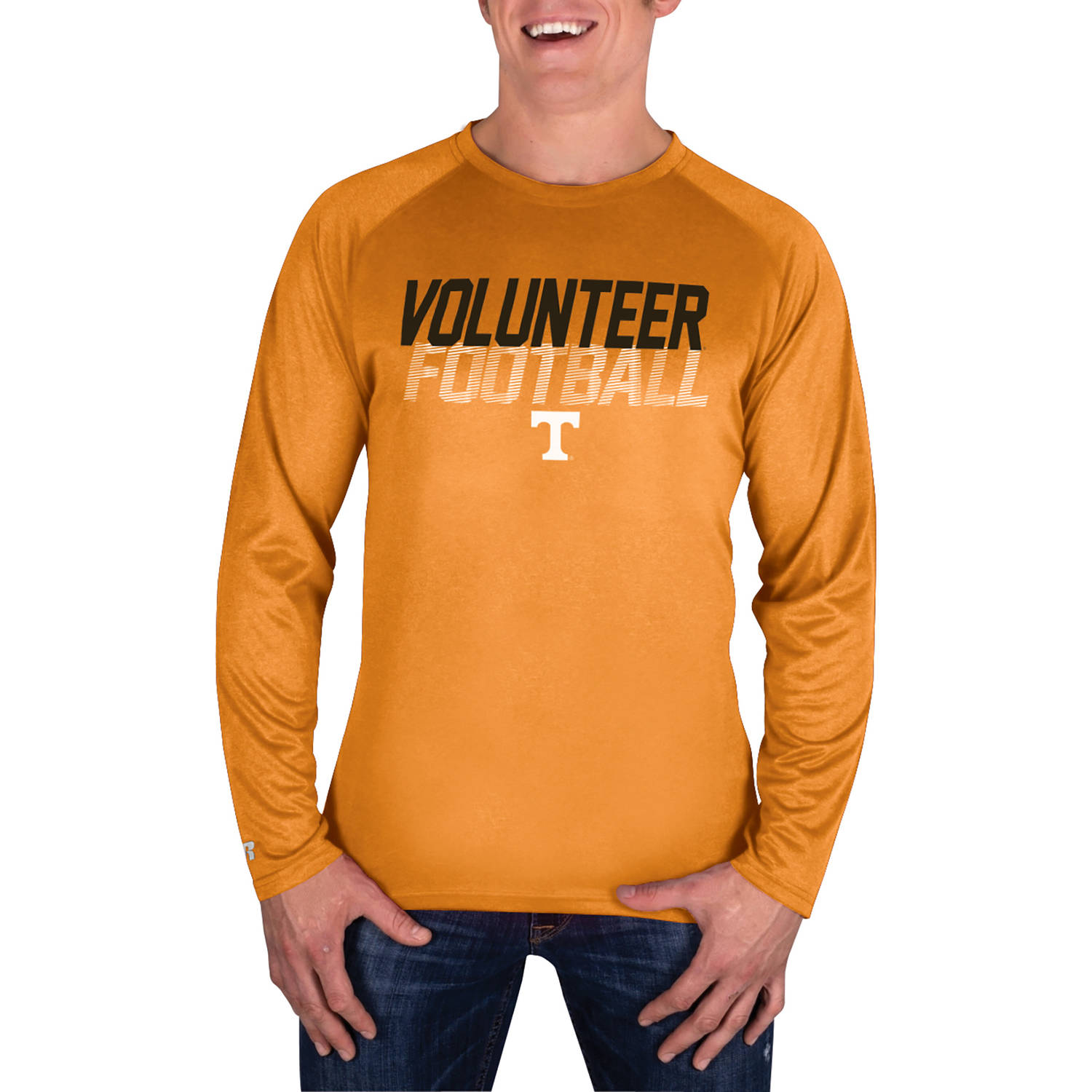 NCAA Tennessee Volunteers Men's Long Sleeve Impact T-Shirt