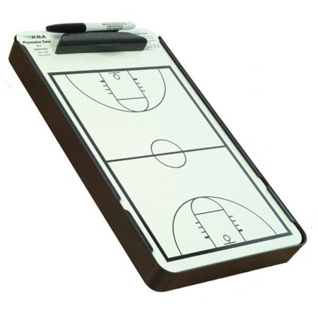 KBA Basketball Coaches Clipboard Playmaker & Case - Walmart.com ...