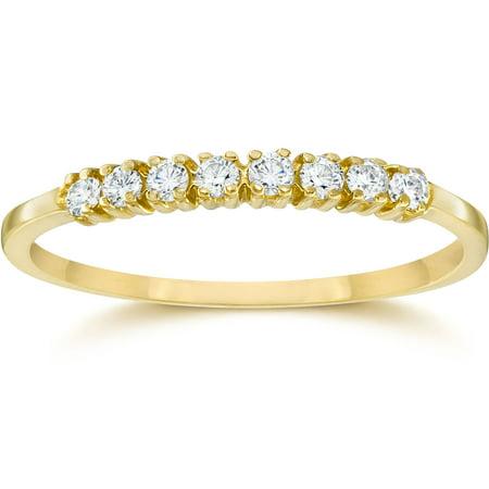 1/5Ct Diamond Ring 10K Yellow Gold - image 1 of 1