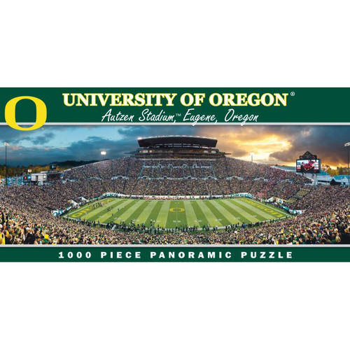 Oregon Ducks 1000-Piece Panoramic Puzzle by Generic