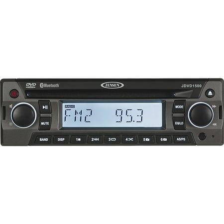 JENSEN JDVD1500 12V AM/FM/CD/DVD/Bluetooth Player ()
