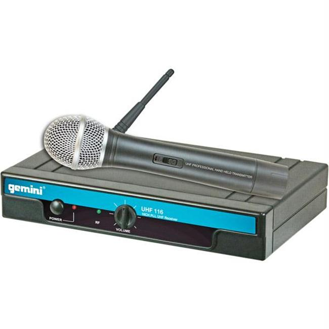Gemini Dj 16-Channel Uhf Wireless Handheld Microphone System Frequencies: 2+6 by Gemini DJ