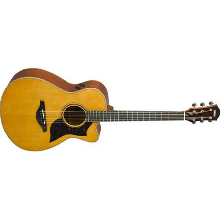 Yamaha AC3M ARE Concert Acoustic-Electric Guitar (Vintage (Best Vintage Yamaha Acoustic Guitars)