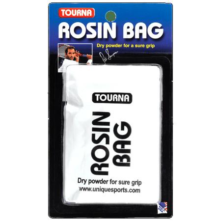 Unique Tourna Rosin Bag - Dry Powder Sure Grip Tennis Golf Baseball Pool (Woods Sure Grip)