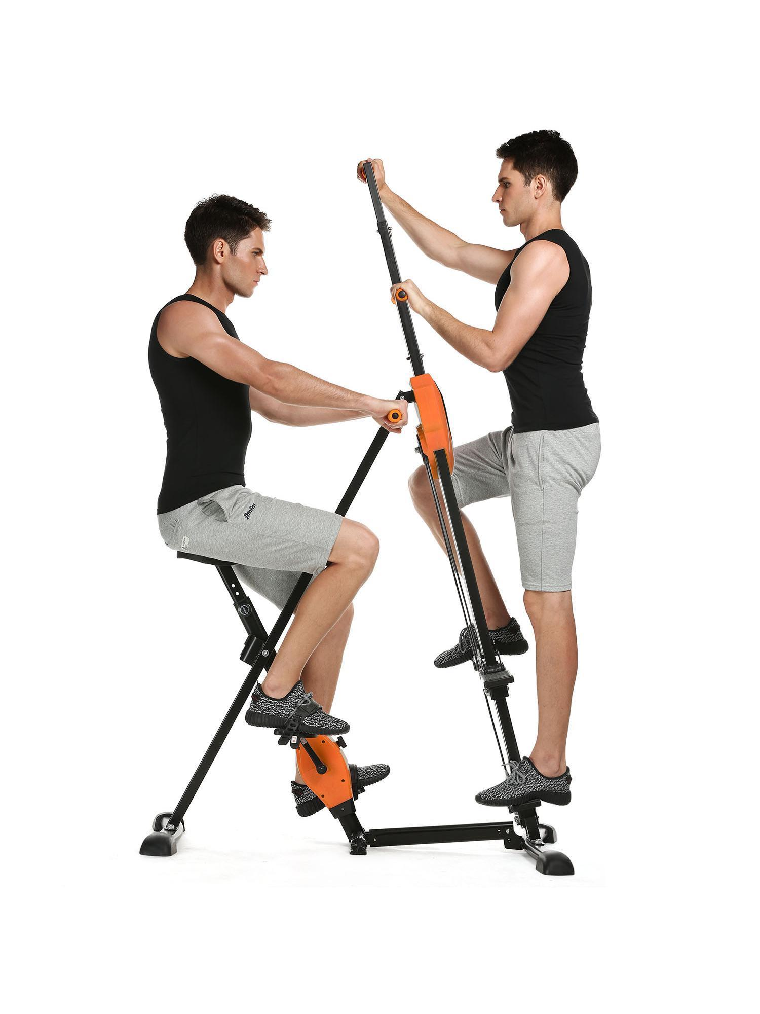 Vertical Climber Folding Total Body Workout Machine Fitness Gym Training Equipment WSY by