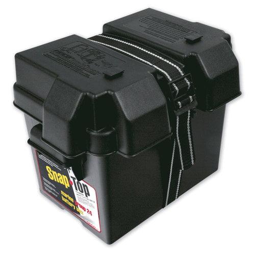 Snap-Top Everstart Marine Battery Box