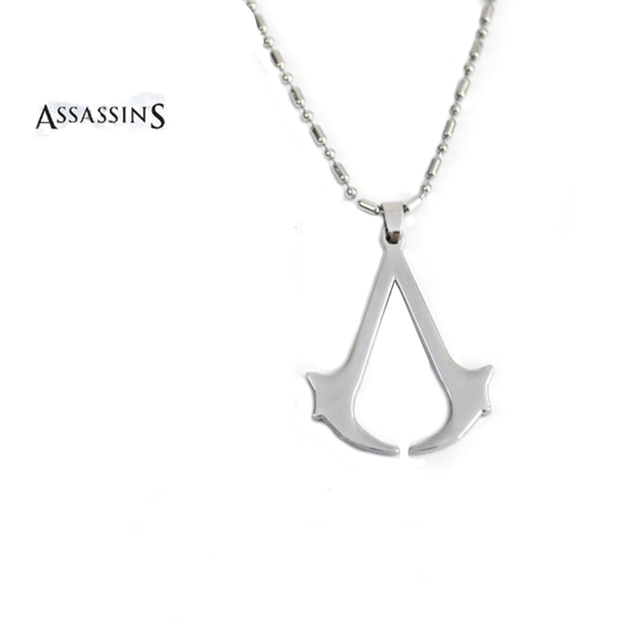 Rowena J The Assassins Stainless Steel Necklace Pendant And