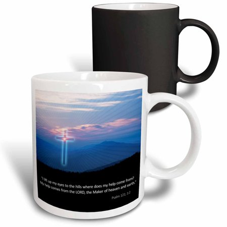 3dRose Print of Christmas For Daughter And Son In Law, Magic Transforming Mug, (Christmas Poem For Daughter And Son In Law)