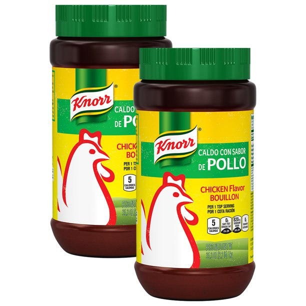 (2 Pack) Knorr Chicken Granulated Bouillon, 35.3 oz