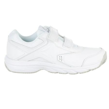 9d76743f107 Reebok - Reebok Work N Cushion 3.0 Kc Walking Shoe - White Steel - Mens - 9  - Walmart.com