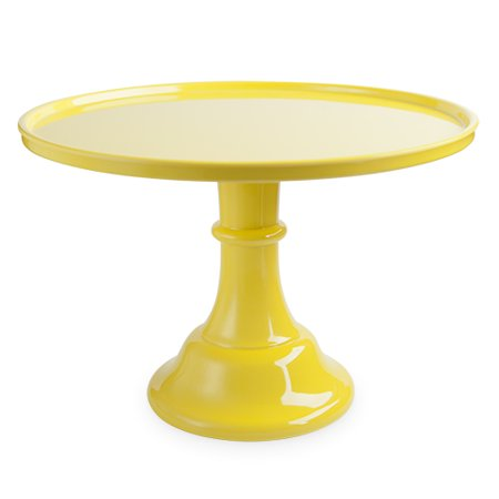 Yellow Melamine Cake Stand - Cardboard Cake Stands Cheap