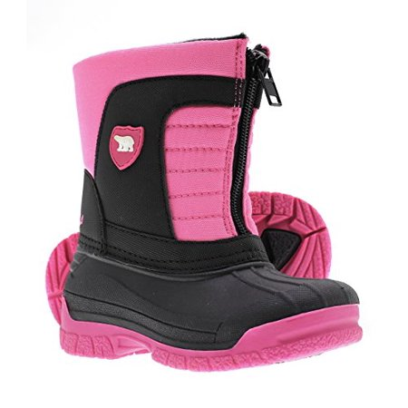 - Arctic Shield Warm Insulated Waterproof Durable Easy On/Off Winter Snow Boots (Toddler/Kids)