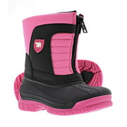 Arctic Shield Warm Insulated Waterproof Durable Easy On/Off Winter Snow Boots (Toddler/Kids)