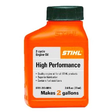 STIHL 0781 319 8049 5.2 Ounce High Performance 2 Cycle Engine Oil, 1 Pack 2 Cycle High Performance Oil