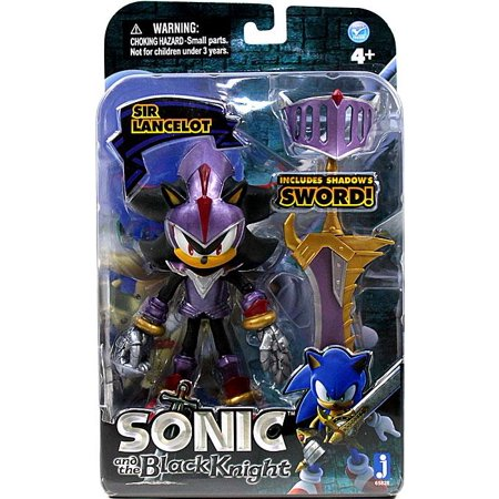 Upc 681326658283 Sir Lancelot Shadow Action Figure Purple Armor Sonic The Hedgehog Upcitemdb Com