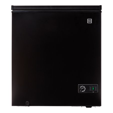RCA 5.1 cu ft Chest Freezer, Black RFRF510-BLACK-COM