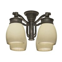 Casablanca 99087 Aged Bronze Aged Bronze Outdoor 4 Light Fixture