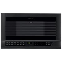 Over the Counter Microwave Oven (Black)