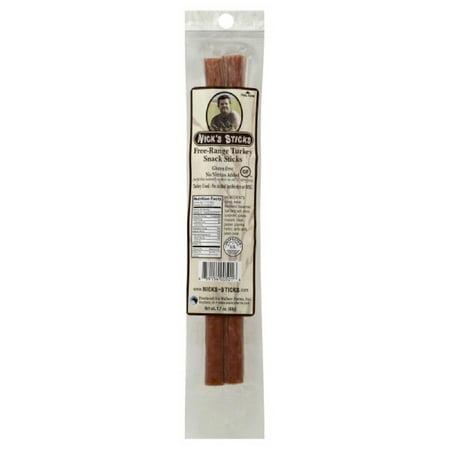 Nics Sticks (Nicks Sticks Turkey Free-Range Snack Sticks, 1.7 Oz (Pack of 25))