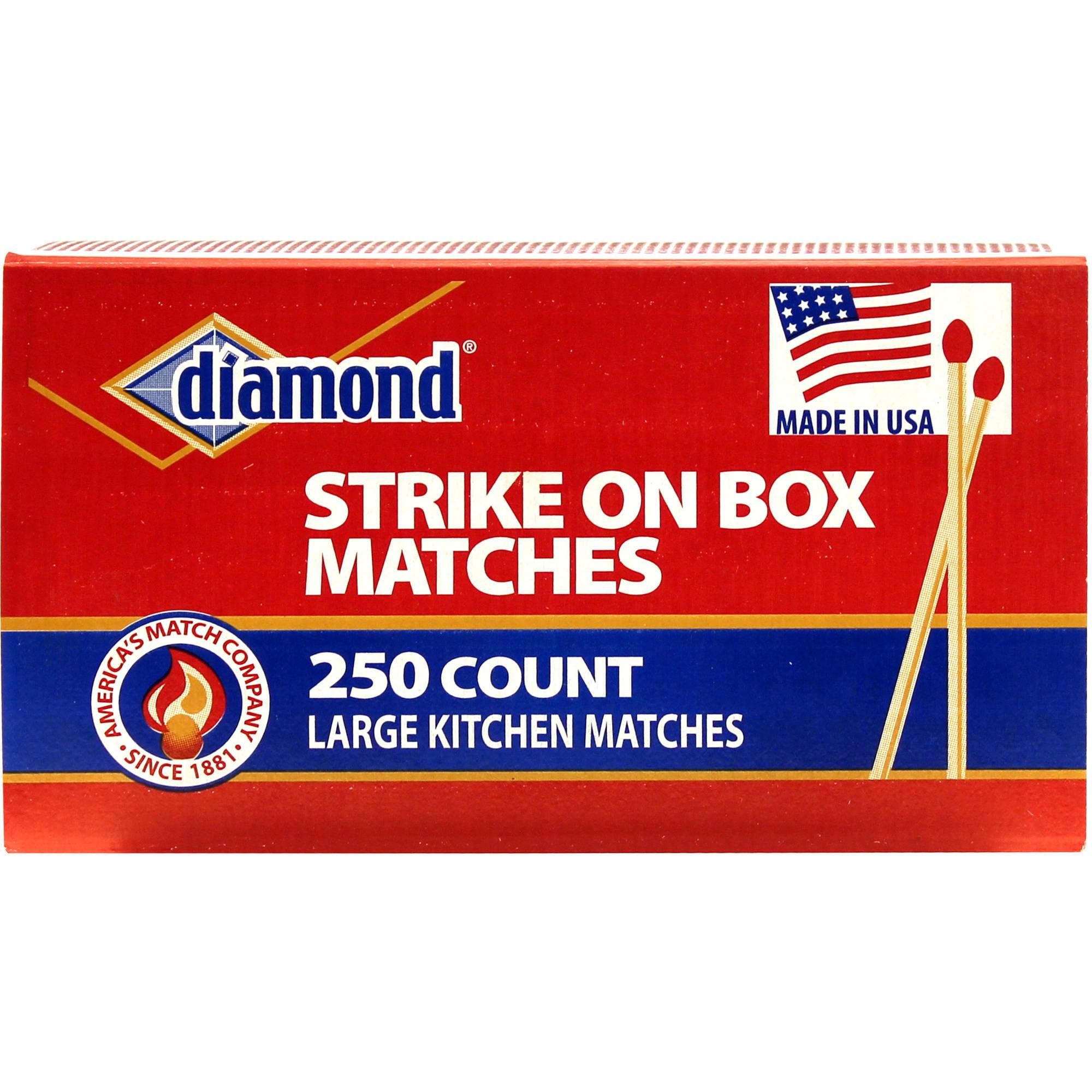 Diamond Kitchen Matches, 250ct