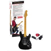 Spectrum AIL 79V-S Vintage Series ST Style Full Size Electric Guitar, High Gloss Ultra Black Finish