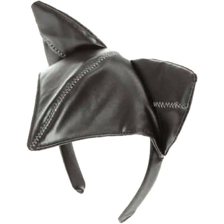 Stitched Cat Ears Head Piece Adult Halloween Accessory
