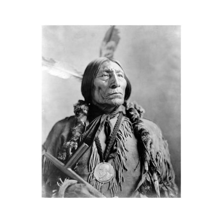 Wolf Robe, Cheyenne Indian Chief Print Wall Art By Science Source