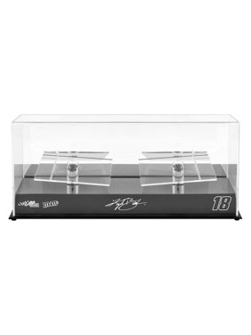 Kyle Busch Fanatics Authentic #18 Joe Gibbs Racing 2 Car 1/24 Scale Die Cast Display Case With Platforms - No Size