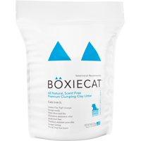 Boxiecat All Natural, Scent Free, Premium Clumping Clay Litter, 16 lb.