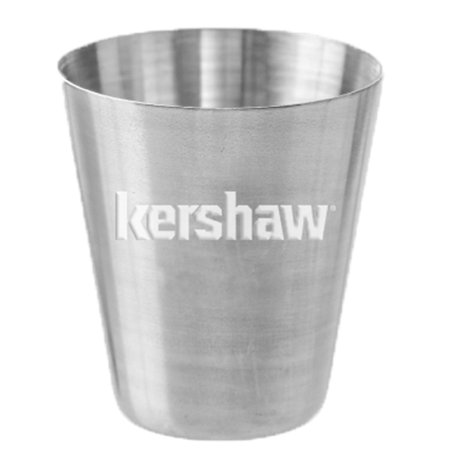 Kershaw Stainless Steel Shot Glass; 1 fl. oz.; Features Striking Kershaw Logo Etched into Center; Great for Kershaw Owners and Enthusiasts; Versatile and Durable Shot Glass for Home or Recreation (Cheap Used Minivans For Sale By Owner)