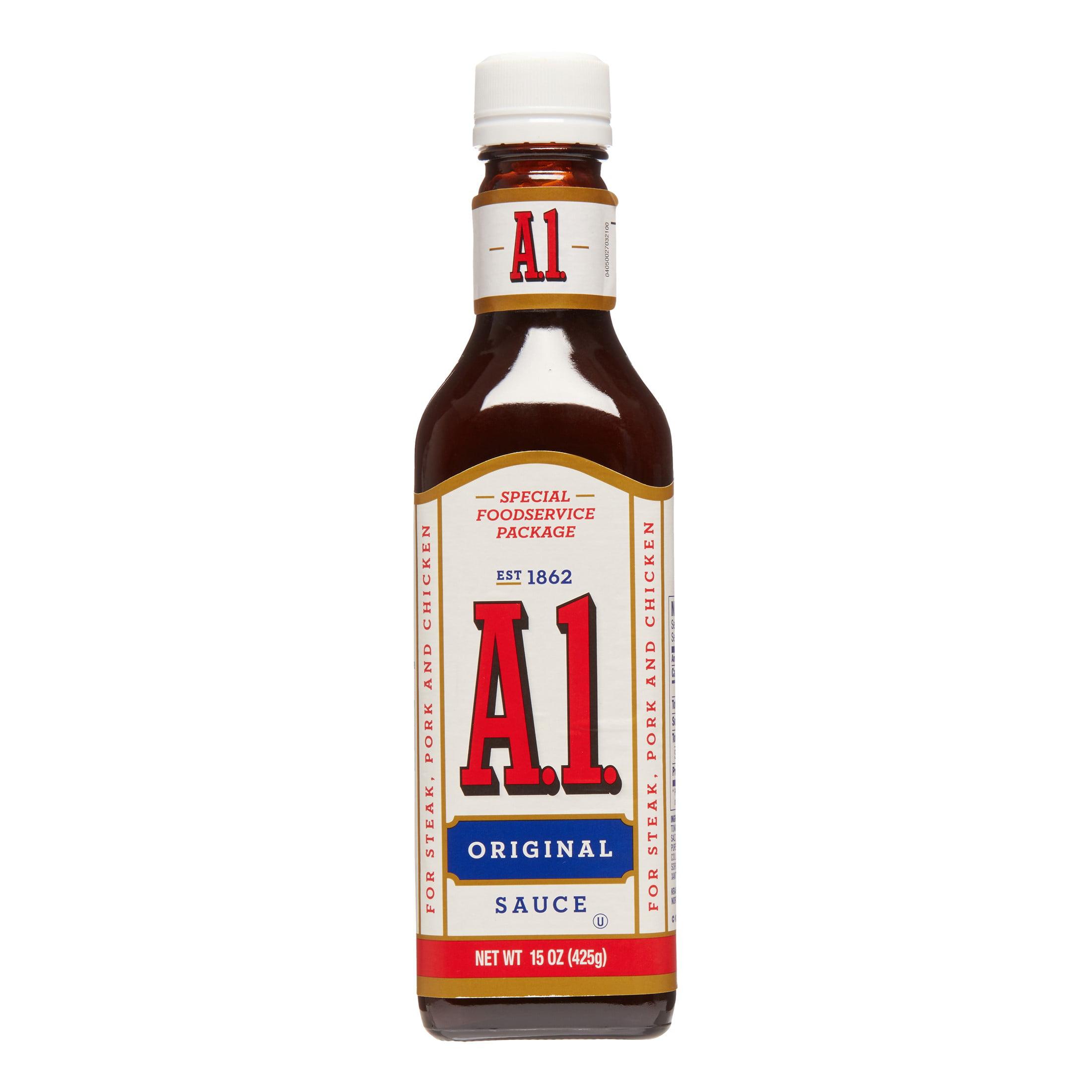 A1 Steak Sauce 15 Fl Oz Walmart Com Walmart Com