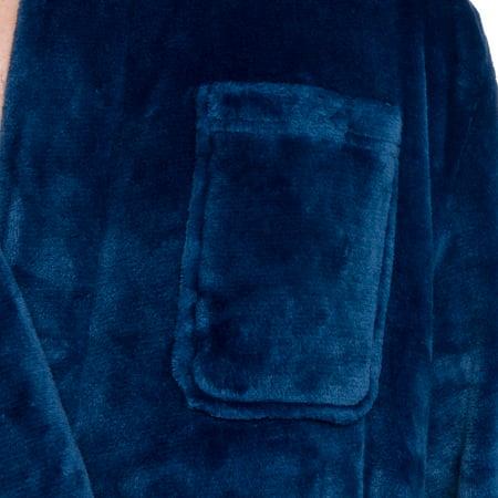 54cc213532 Ross Michaels Mens Hooded Full Length Big and Tall Long Bath Robe ...