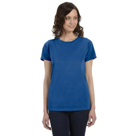 Authentic Pigment 1977 T-Shirt Women's Short Sleeve Dyed Ringspun ()